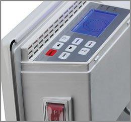 Конвектор с возможностью встраивания в автоматическую систему вентиляции, отопления и кондиционирования воздуха в здании