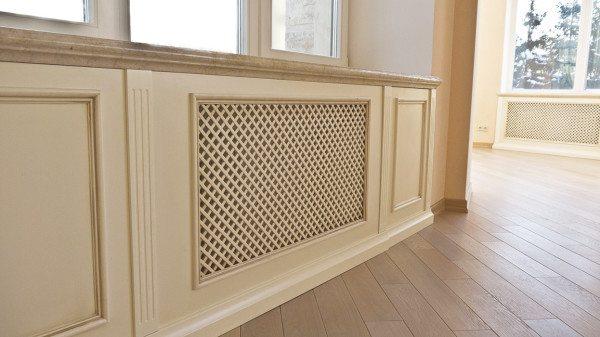 Короб ограничивает конвекцию и, соответственно, уменьшает теплоотдачу.