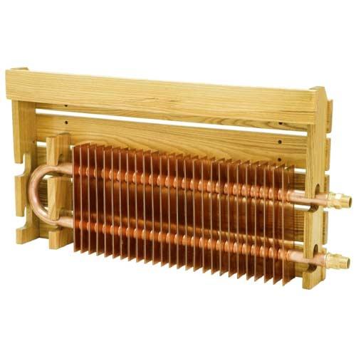 медный радиатор отопителя