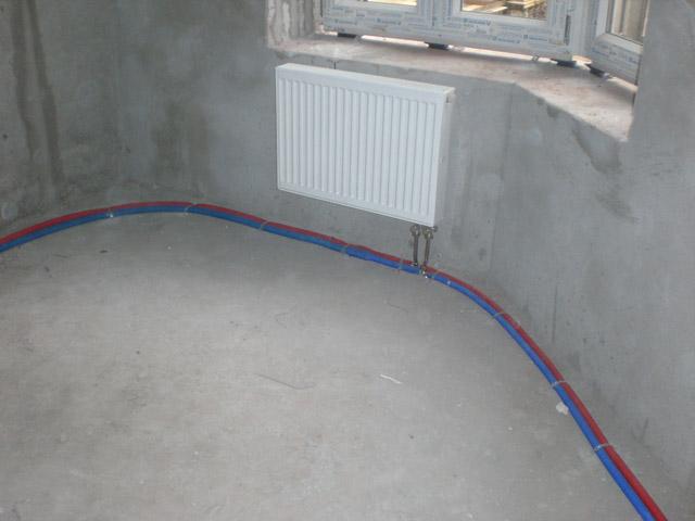 Установка газовый котел для отопления частного дома