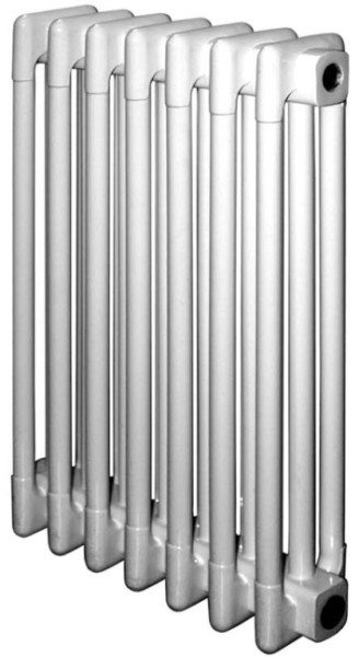 На фото - секционный стальной радиатор.