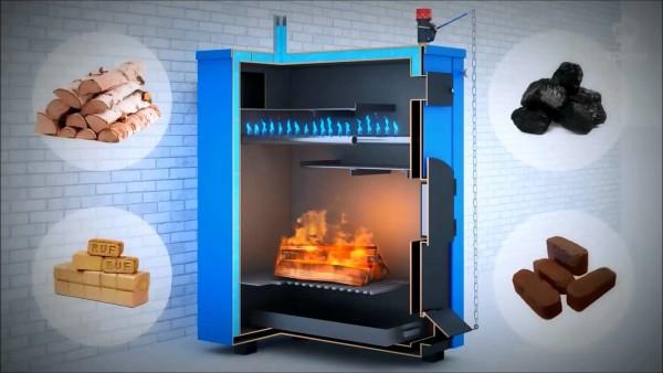 На фото - виды твердого топлива, на котором может работать газогенератор.