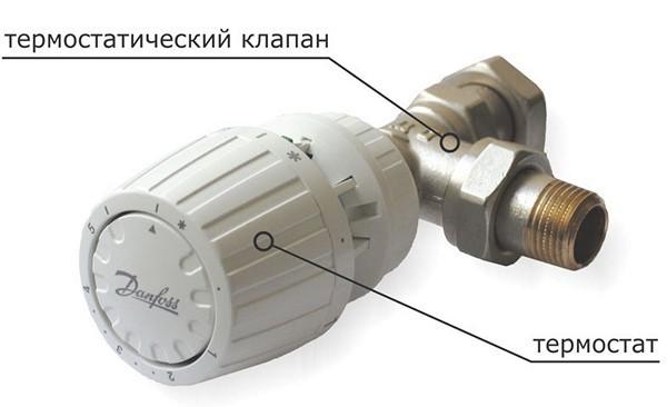 На фото автоматический терморегулятор