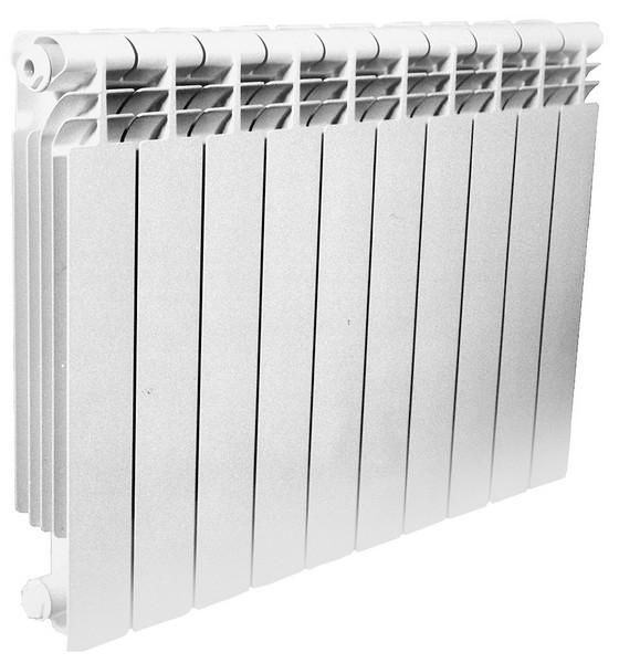 На фото показан секционный радиатор отопления.