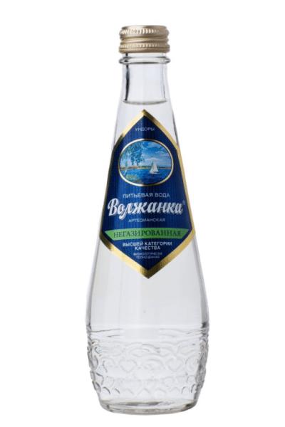 Набираем в бутылку воду.