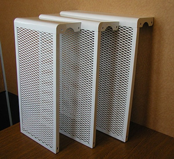 Навесные сетки на батареи отопления