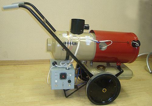 Нет правил без исключений. Отопитель независимый бытовой ОБ1 0010 снабжен собственным генератором и обходится без внешнего питания, вырабатывая электричество для вентилятора самостоятельно.
