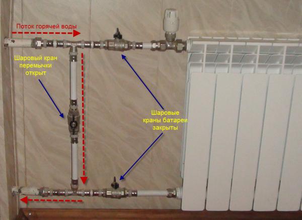 нормы установки радиаторов отопления