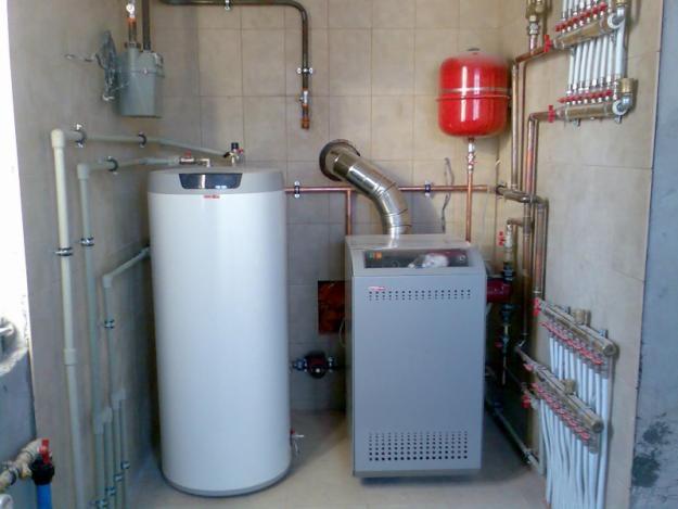 Схема водяного отопления