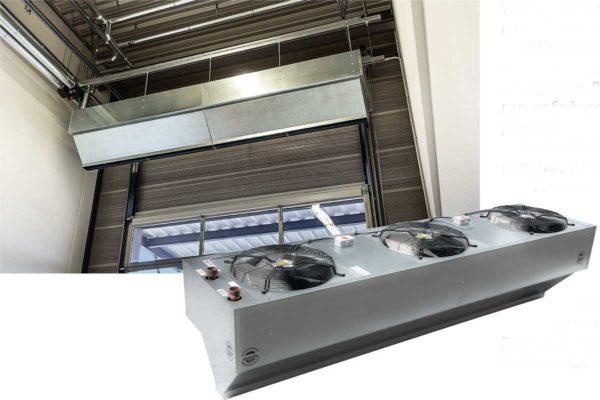 Один из вентиляторов отвечает за создание зоны холодного воздуха, а специальная форма сопла способствует стабильности воздушного потока.