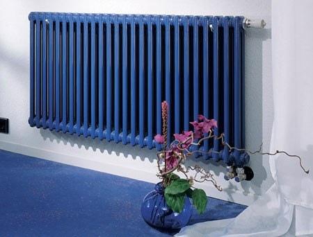 Окрашенный радиатор