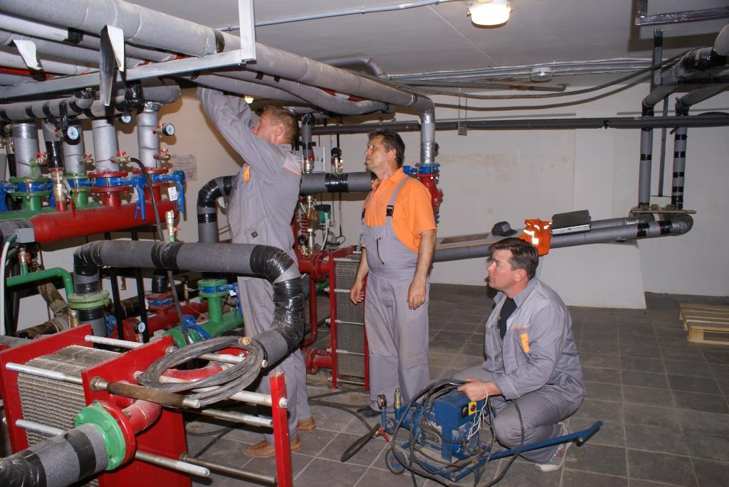 Программа опрессовки системы отопления образец скачать