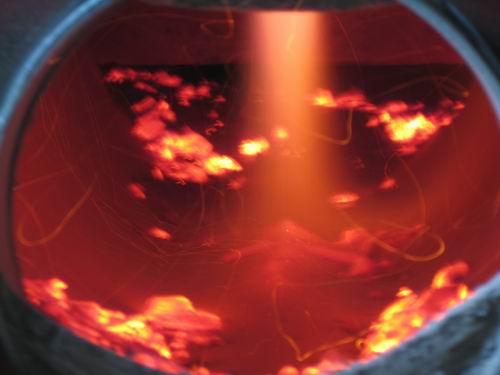 Основную тепловую энергию в котле дает сжигаемый газ.