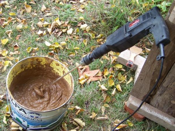отопительная печь из кирпича