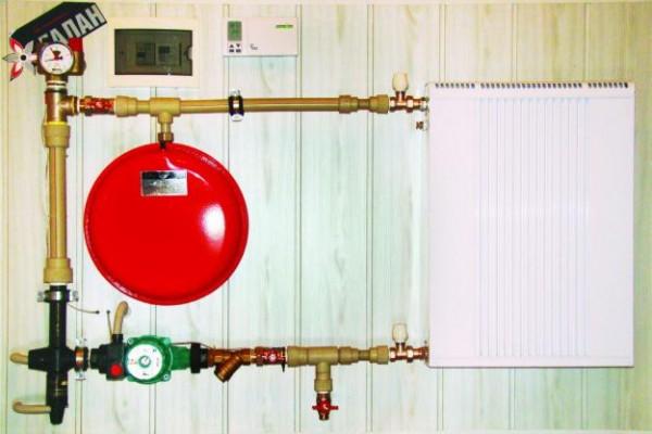 Отопительная система Галан в квартире