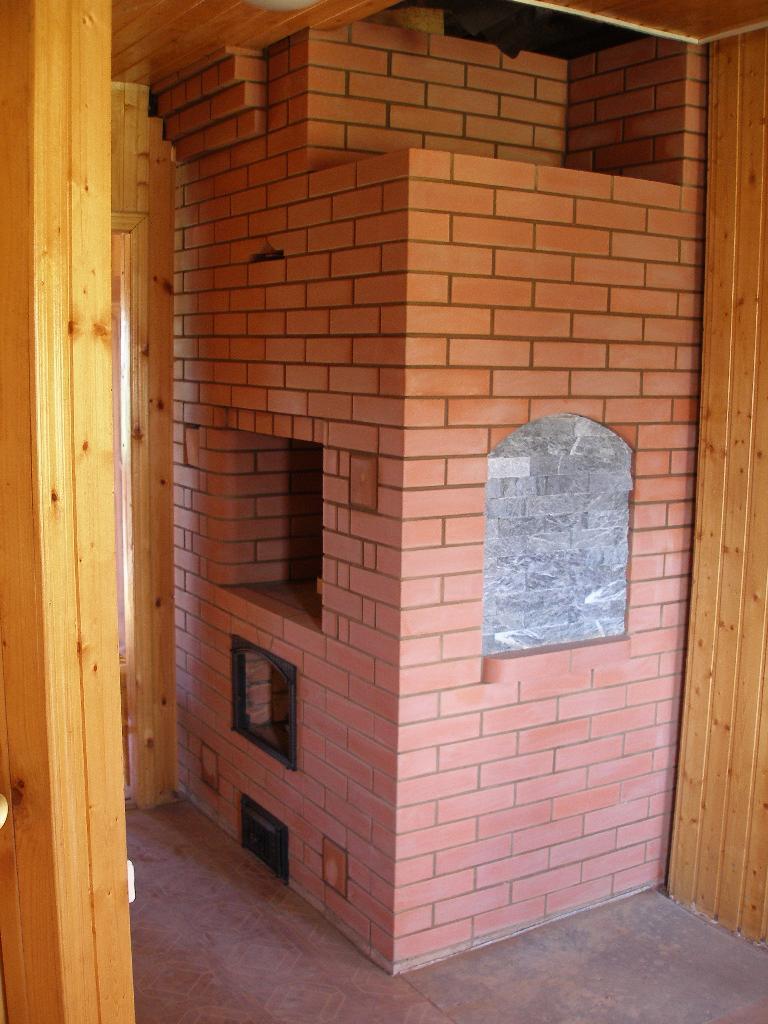 Отопительно-варочная печь, созданная по порядовке