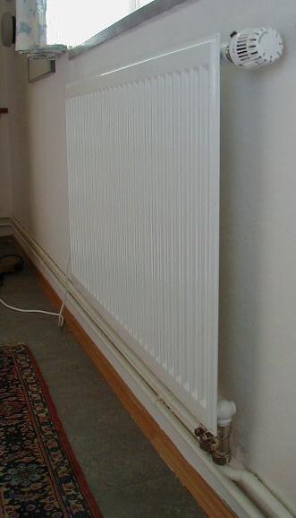 «Отопительный лист» является эффективным лишь в то случае, если оконный проем не является источником потери тепла