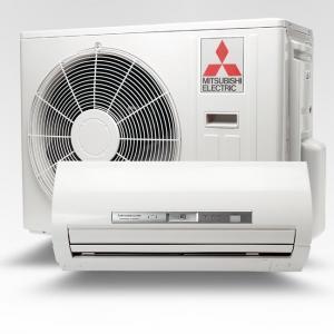 Отопление - вентиляция кондиционером в режиме обогрева