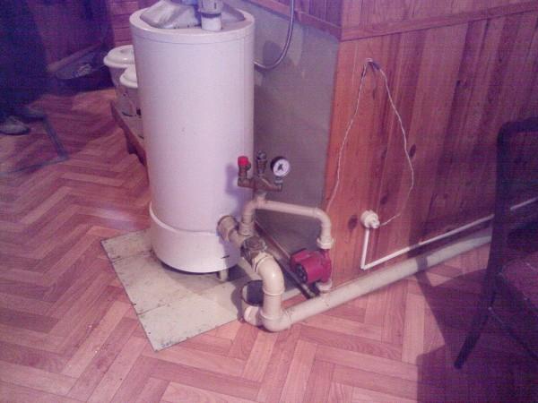отопление дома с естественной циркуляцией