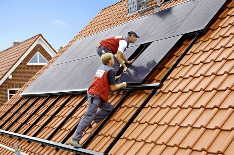 Картинки по запросу монтаж солнечных батарей