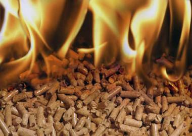 Отопление с помощью пеллетов