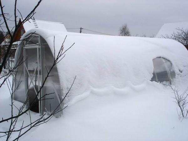отопление теплицы зимой