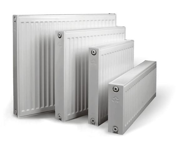 Панельные радиаторы разной величины и мощности