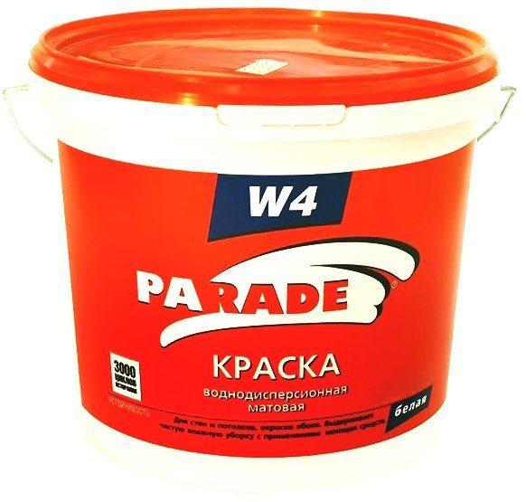 Parade W4 — долговечная и влагоустойчивая акриловая краска