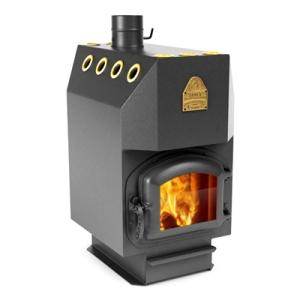 Печь длительного горения, работающая на твердом топливе