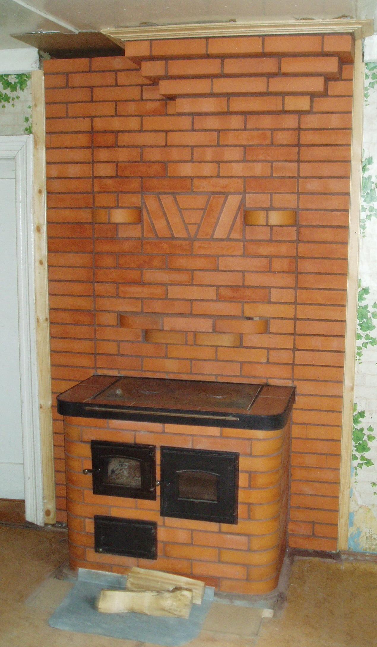Отопительная печь дома своими руками