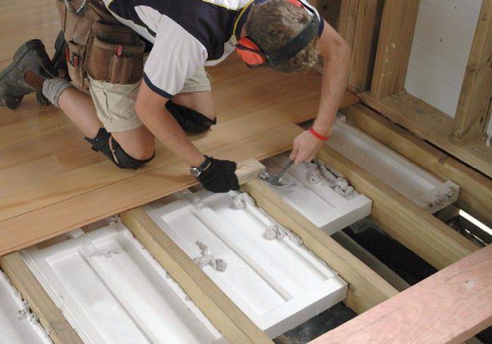 Утепление своими руками в деревянном доме