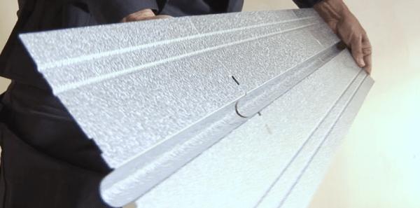 Пластины из алюминия.
