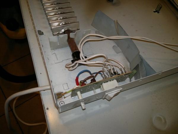 Плата управления электрического прибора.