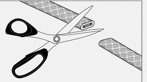 Плюсом можно считать возможность нарезки самонагревающихся проводников на фрагменты нужной длины