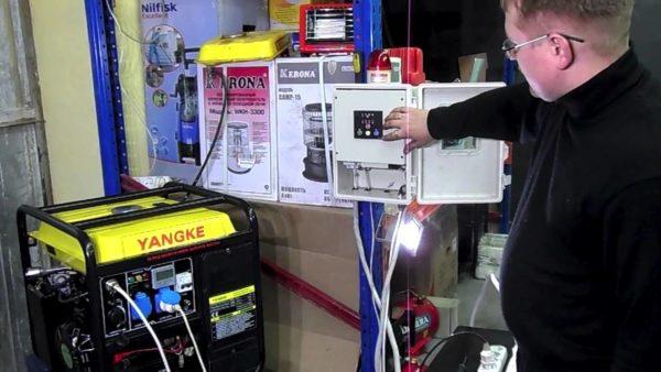 Подключение генератора позволит всегда обеспечивать ваш дом электроэнергией