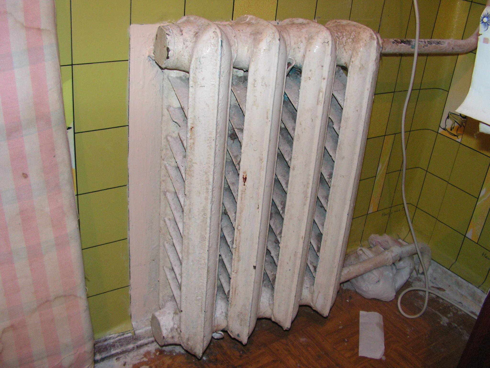 Тепловой радиатор своими руками