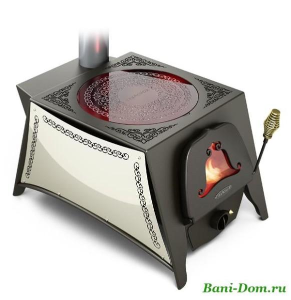 Подобное устройство и обогреет дом и поможет приготовить пищу.