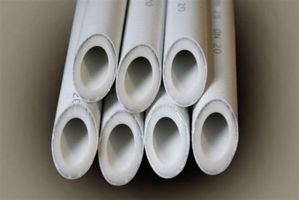 Полипропиленовая труба с алюминиевой вставкой
