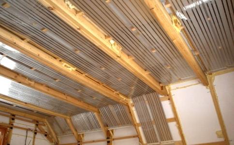 потолочное инфракрасное отопление