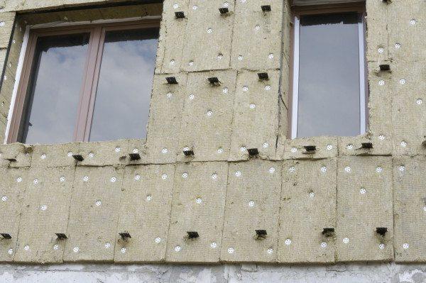 Пример утепления стены минватой