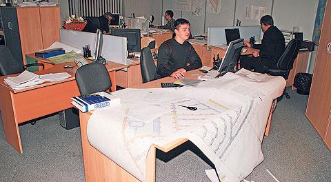 Проектный отдел в работе