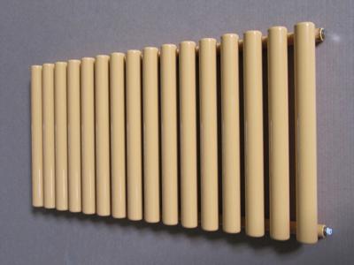 Простейший вид трубчатого радиатора из стали