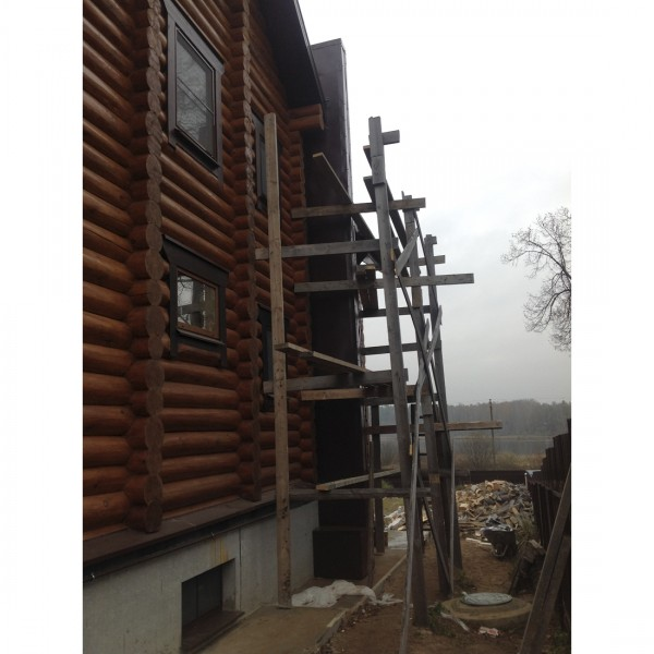 Процесс монтажа дымовой трубы в частном доме