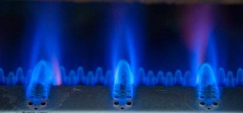 Работа конфорки газовой колонки