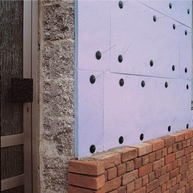 Утепление наружных стен пенополистиролом