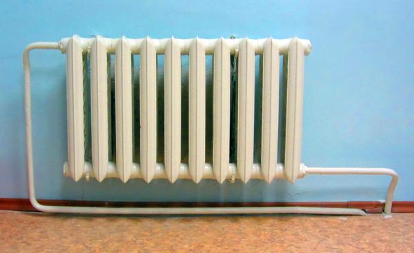 Радиатор старого образца