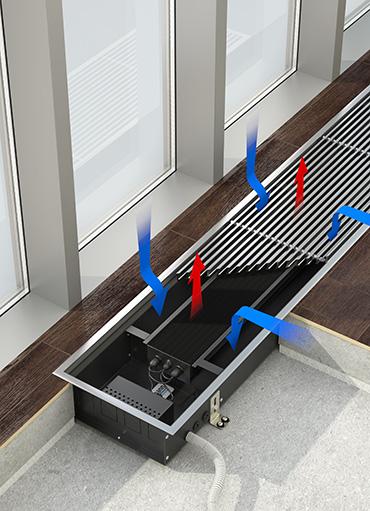 радиаторы отопления встраиваемые в пол