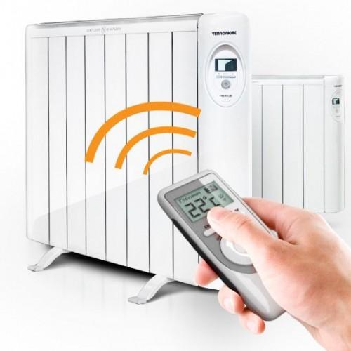 Радиаторы с дистанционным управлением очень удобны ы эксплуатации.