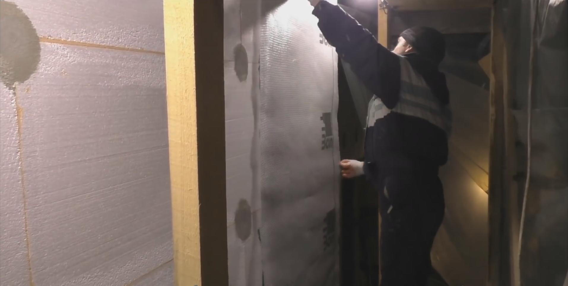 Утепление стен снаружи своими руками пенополистиролом