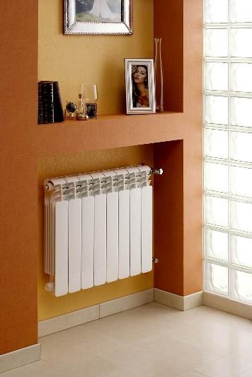 Расположение в нише требует увеличения мощности радиаторов на 7%, помните об этом